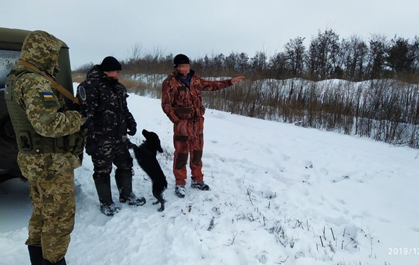 Прикордонники затримали двох росіян-браконьєрів