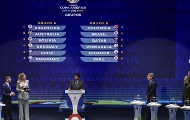 Жеребкування Кубка Америки: Аргентина і Бразилія в різних групах
