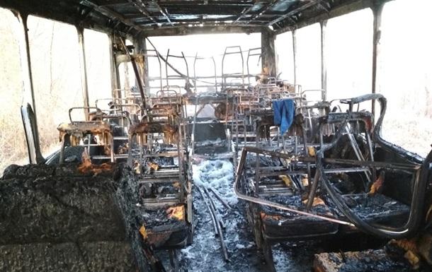 У Житомирській області на ходу загорівся рейсовий автобус