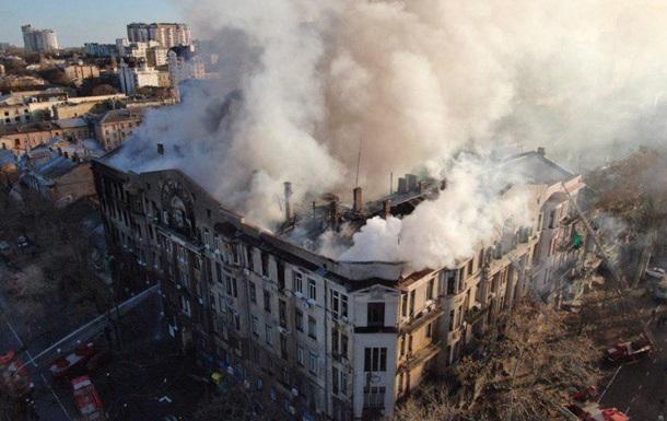 Пожар в Одессе: ГСЧС уточнила данные о жертвах