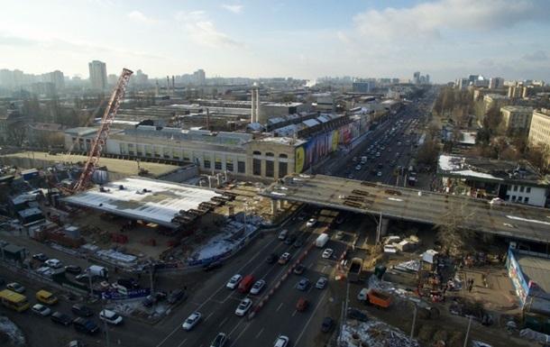 Встановлено останню секцію Шулявського моста