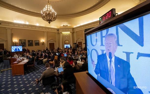 У США почалися нові слухання з імпічменту Трампа
