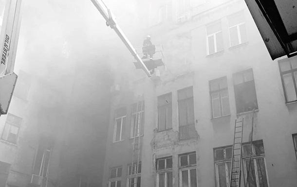 Пожар в одесском колледже ликвидирован