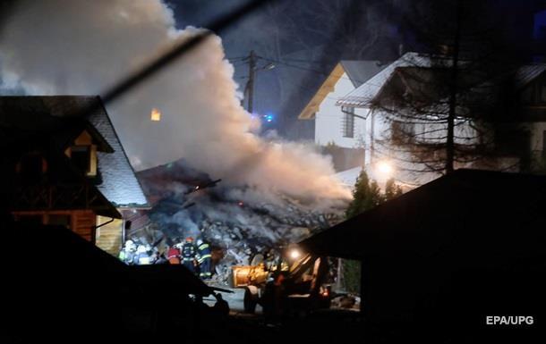 В Польше из-за взрыва газа обрушился дом
