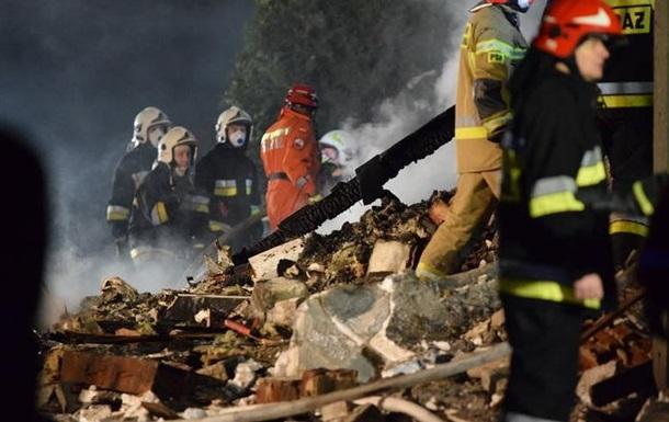 У Польщі обвалився будинок: п ятеро загиблих