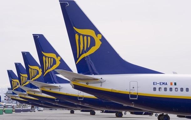 Ryanair припинить літати з Києва в Нюрнберг і Стокгольм