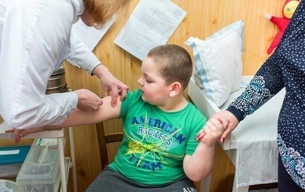 Україна  впала  за захворюваністю на кір у світі