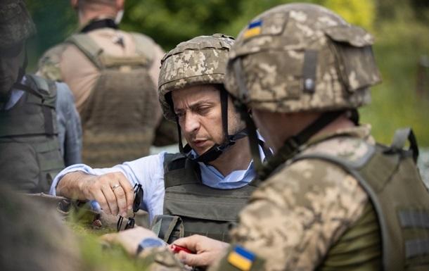 Зеленський приїхав на Донбас на День ЗСУ