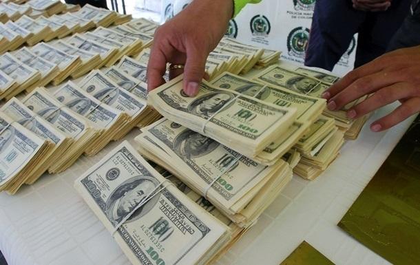 Україна збільшила резерви на півмільярда доларів