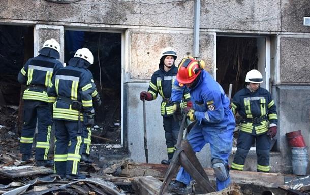 Пожар в колледже Одессы 4 декабря 2019