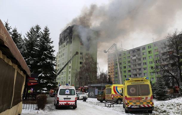 У Словаччині п ятеро людей загинули під час вибуху газу в житловому будинку