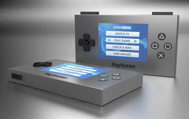 Sony запатентовала портативную  консоль  для видеоигр