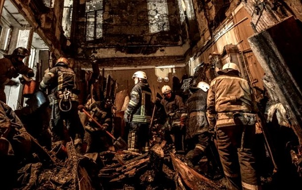 На пожарище в Одессе нашли четвертую жертву