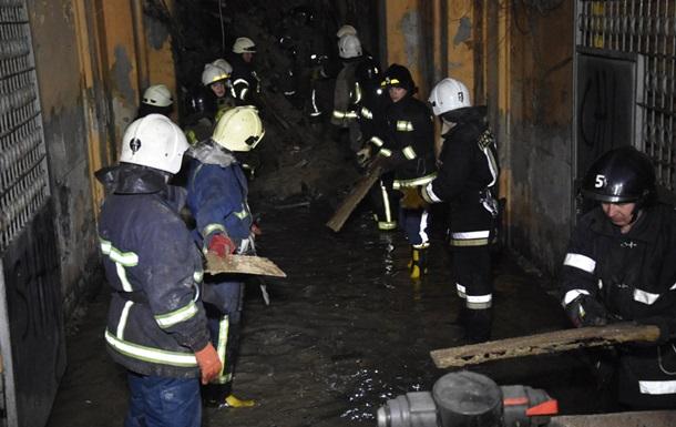 З явилося відео початку пожежі в коледжі Одеси