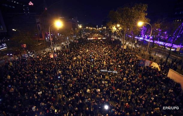 У Мадриді пройшов багатотисячний Марш за клімат