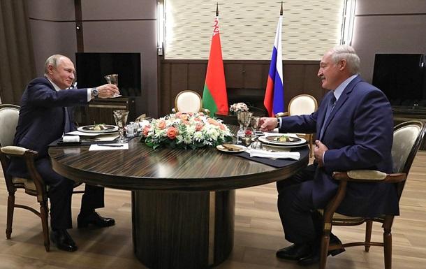 Переговоры Путина и Лукашенко длились почти шесть часов