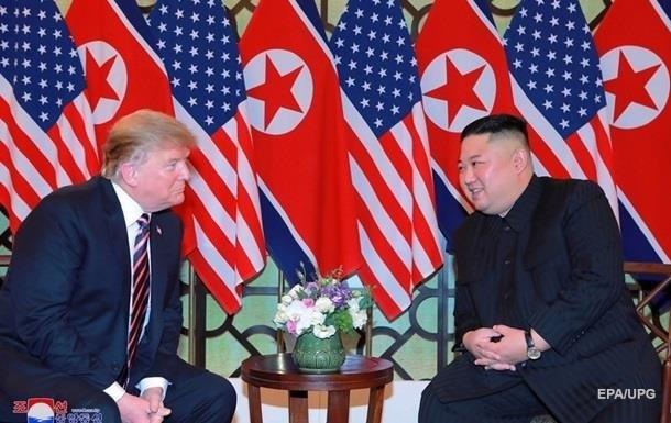 Трамп високо оцінив свої стосунки з Кім Чен Ином