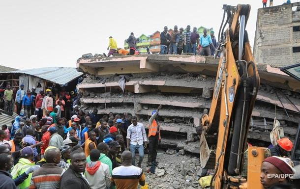 Стала відома кількість загиблих через обвалення будівлі в Кенії