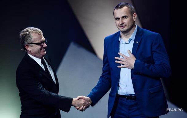 Сенцову не дали выступить на церемонии вручения европейского Оскара