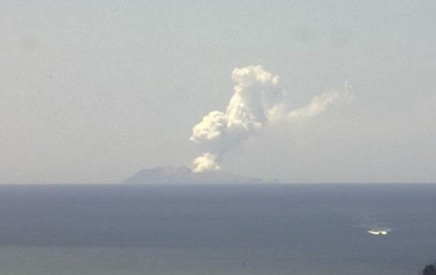 На острові в Новій Зеландії сталося виверження вулкана