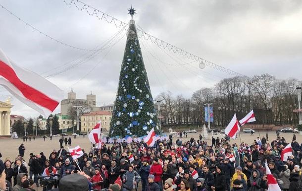 У Мінську знову протестували проти інтеграції з Росією