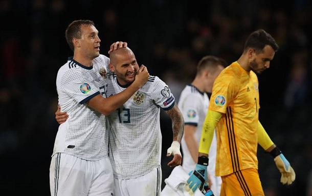 Отстранение России от международных соревнований не коснется Евро-2020