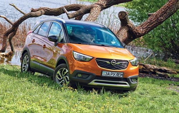 Тест-драйв кроссовера Opel Crossland X