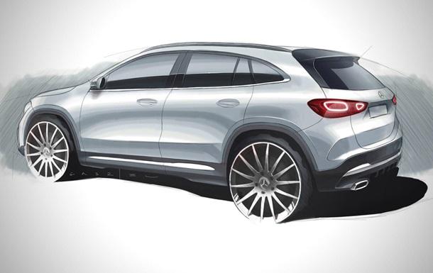 Раскрыта внешность кроссовера Mercedes-Benz GLA