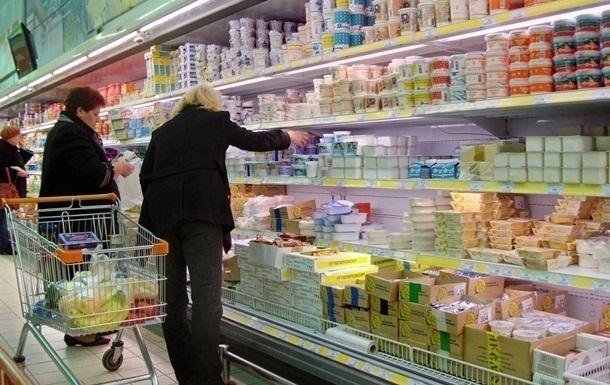 Украинцы тратят на еду вчетверо больше жителей ЕС