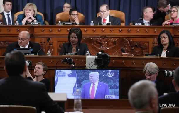В США начали рассматривать официальные статьи обвинения Трампа