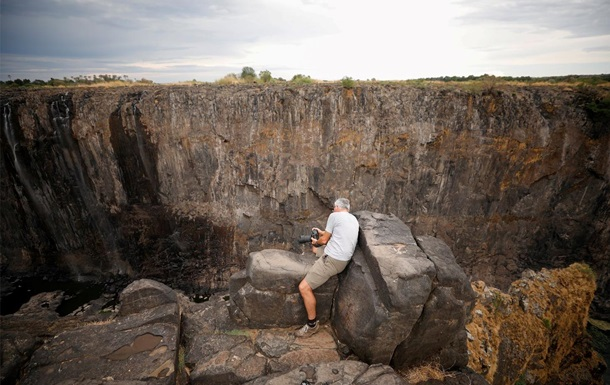 В Африці висох водоспад Вікторія