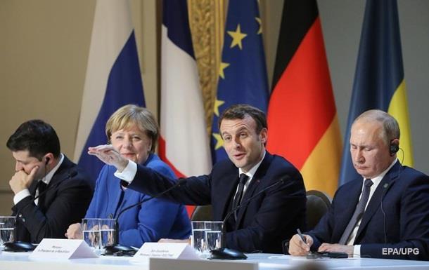 Между Украиной и РФ восстанавливаются дипотношения - Макрон