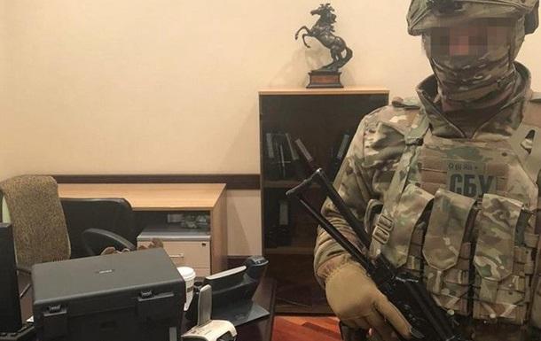 СБУ организовали обыски в офисе ОПЗЖ для демонтажа спецтехники