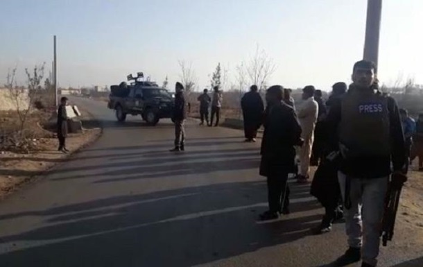В Афганистане возле базы США произошел мощный взрыв