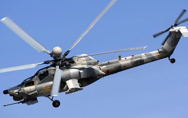 Двоє людей загинули в аварії військового вертольота у Росії