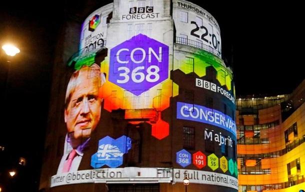 Вибори у Великобританії: абсолютна більшість у консерваторів
