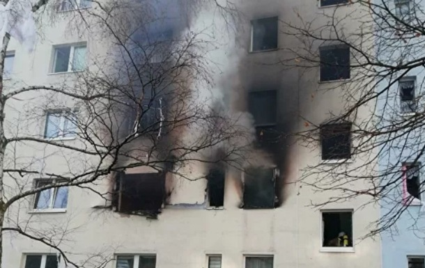 В Германии взорвался многоэтажный дом