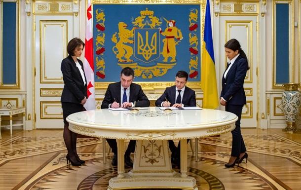 Украина и Грузия договорились создать стратегический Совет