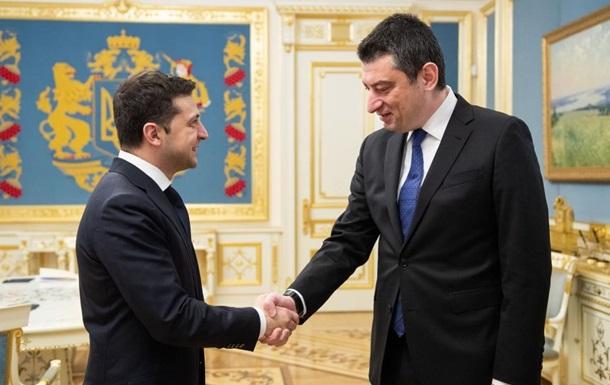 Зеленський і прем єр Грузії обговорили взаємодію в питанні євроінтеграції
