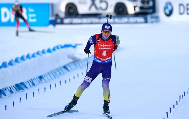 Пидручный занял девятое место в спринте в Хохфильцене, лучший результат у Бе