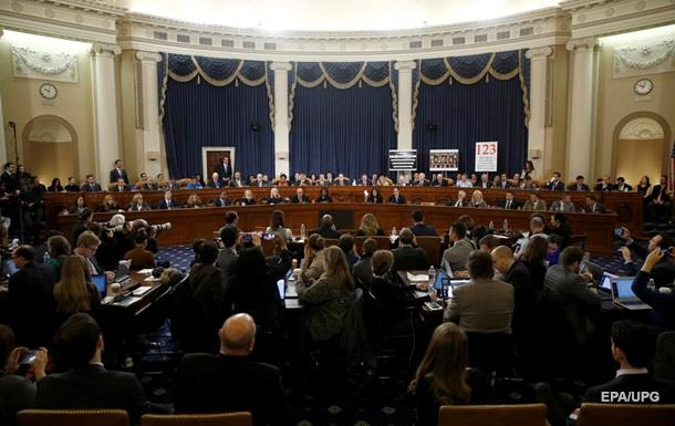 У Конгресі затвердили статті для імпічменту Трампу