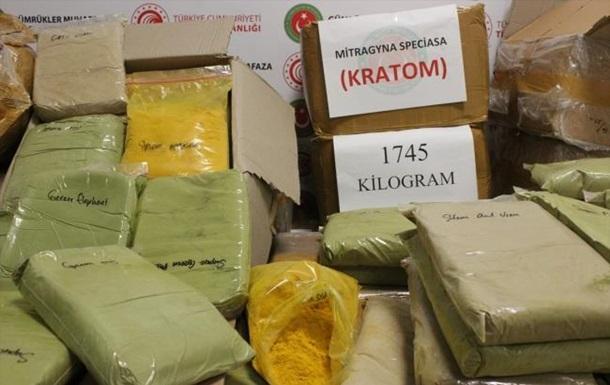 В аеропорту Стамбула вилучили рекордну партію наркотиків