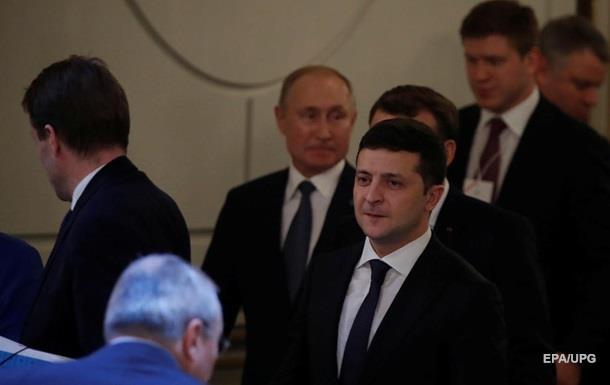 У Путина рассказали о разногласиях с Зеленским