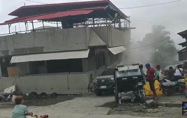 Потужний землетрус стався на Філіппінах