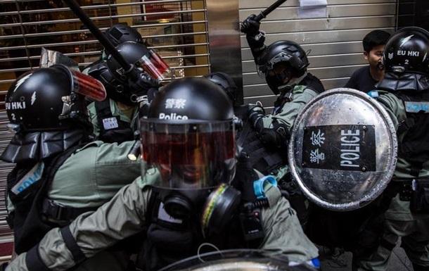 У Гонконгу вперше за останні три тижні знову стались сутички