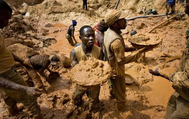 У Конго на золотодобувній шахті загинули 30 осіб