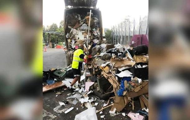 Молодята перебрали 30 тонн сміття, щоб знайти обручки