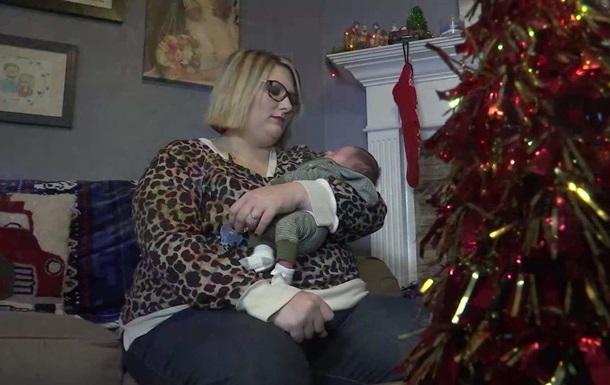 Американка дізналася про вагітність на дев ятому місяці