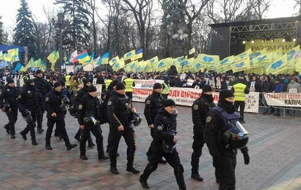 Силовики посилили заходи безпеки у центрі Києва