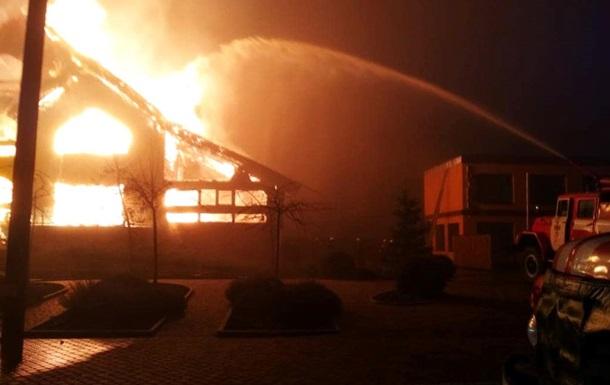 У Павлограді пожежа знищила кафе